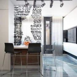 Дизайн маленькой квартиры студии 25-35 метров: неординарные решения