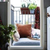 Идеи для маленького балкона