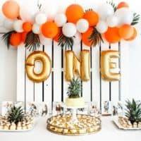 Как украсить стол на день рождение — 5 Супер идей!