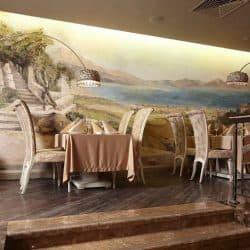 Роспись и декорирование стен и потолков интерьера