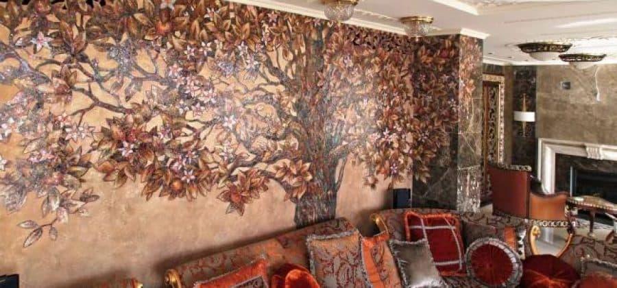 Виды мозаики для отделки стен интерьеров