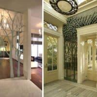 Использование зеркал в интерьерах домов и квартир
