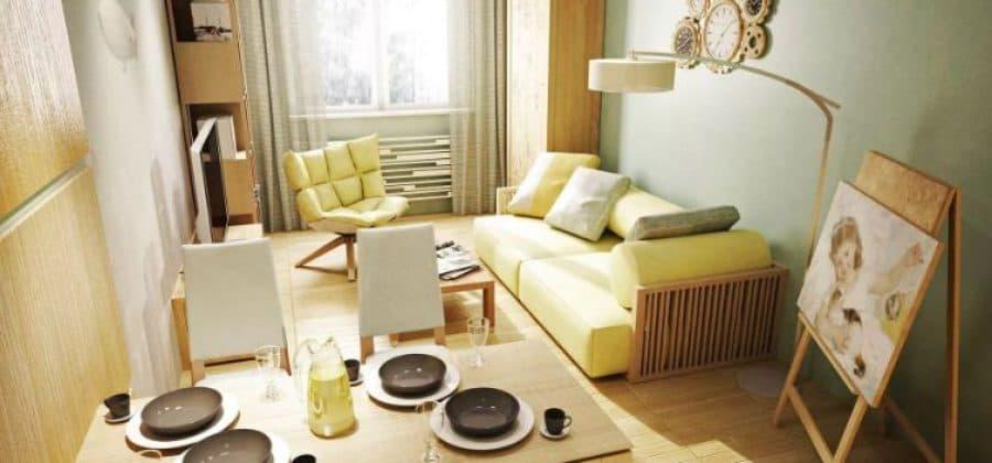 Как обставить маленькую квартиру