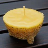 Как сделать оригинальные песочные свечи