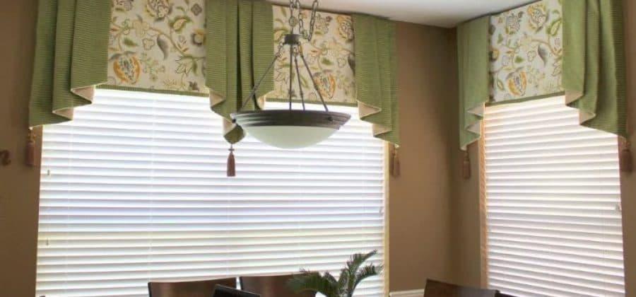 Ламбрекены, японские или римские шторы