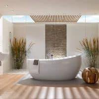 Об интерьере ванной комнаты