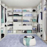 Оформление гардеробной — советуем гардеробные