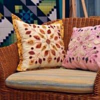 Шьем красивые чехлы и диванные подушки своими руками