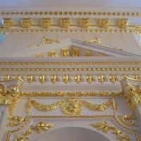 Сусальное золочение лепных изделий и предметов интерьера