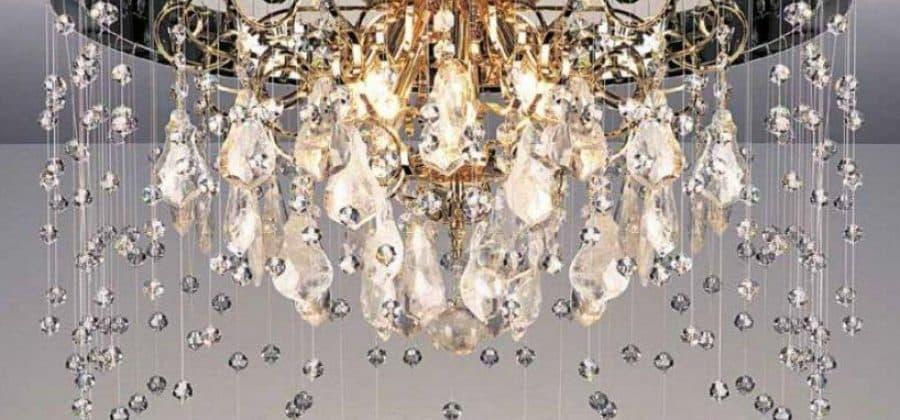 Хрустальные люстры в компании Wonder light