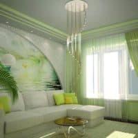 Использование зеленого цвета в интерьере: главные аспекты